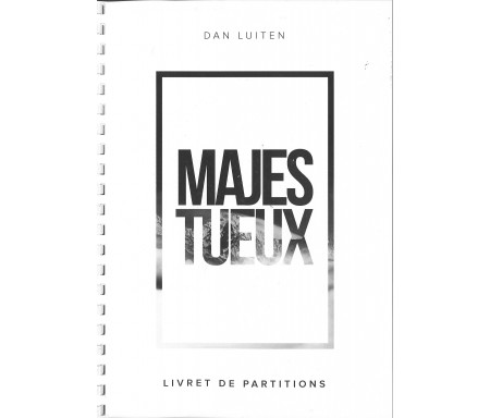 "Partitions album ""Majestueux"""