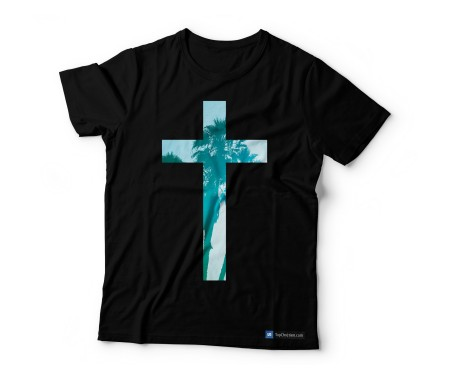 T-shirt H noir Blue Cross S
